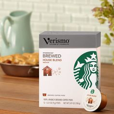 Starbucks Verismo House Blend Coffee - 48 Pods (House Blend) >>> Click image to review more details.