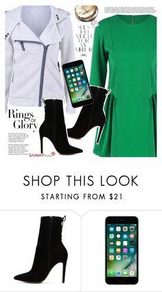 """Green dress"" by vanjazivadinovic ❤ liked on Polyvore featuring ALDO, Tiffany & Co., Rika, Chanel, sammydress and polyvoreeditorial"