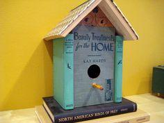 A bookish bird house