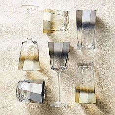 💿📀 We love the Helix Collection by Kim Seybert featured in gold and silver with a super edgy ombré finish. Edge, style and fabulous drinks, the perfect combination! Shop it by clicking the pic! Table Accessories, Gold Set, Hand Washing, Tablescapes, Dinnerware, Tumbler, Things To Come, It Is Finished, Silver