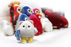 All of the soft toys together, NFC toys and gift toys. Play To Learn, Dinosaur Stuffed Animal, Projects To Try, Characters, Babies, Learning, Toys, Birthday, Christmas