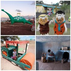 Bedrock City in Custer, South Dakota / 19 Places That Will Make Your Kid's Dreams Come True (via BuzzFeed)