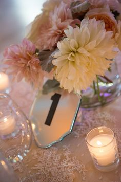 #table-numbers  Photography: Robin Proctor Photography - www.robinproctorphotography.com  Read More: http://www.stylemepretty.com/2014/07/28/sophisticated-summer-wedding-at-the-aspen-mountain-deck/