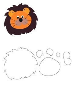 Felt Crafts, Diy And Crafts, Crafts For Kids, Paper Crafts, Jungle Decorations, Lion Hat, Quiet Book Templates, Sewing Projects, Projects To Try