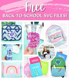 Free back-to-school svg cut files for Cricut. Circle Monogram, Monogram Letters, Teacher Classroom Decorations, Cricut Help, Math Writing, Smart Materials, Personalized Backpack, School Accessories, Text Design