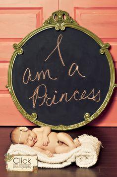 I am a princess.....