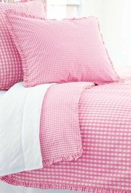 Pink gingham!..Nice, I just bought a bunch of these at my thrift store!! <3 it!!