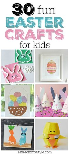 30 fun Easter crafts
