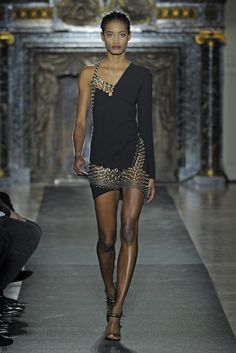 Anthony Vaccarello RTW Fall 2013 - Slideshow - Runway, Fashion Week, Reviews and Slideshows - WWD.com