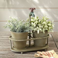 13-3-4L-x-14H-Metal-Planters-with-Faucet-Holder-Holds-2-3-Pots-Rust-BL13748.jpg (600×600)