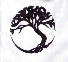 Simple celtic tree of life tattoo roots 68 Ideas Symbol For Family Tattoo, Family Tattoos, Sister Tattoos, Life Tattoos, New Tattoos, Cool Tattoos, Tatoos, Mouse Tattoos, Arrow Tattoos