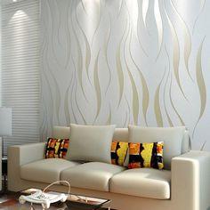Mengagumkan Ide Desain Wallpaper Dinding Ruang Tamu Minimalis Modern Elegan Mewah Nyaman Asri Terbaru Terbaik