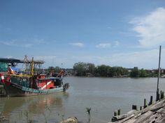 RESEPI NENNIE KHUZAIFAH: Sepetang di Bagan Pasir , Kuala Selangor..