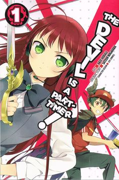 The Devil is a Part-timer! vol 1 (2015) by Satoshi Wagahara & Akio Hiiragi. Funny and clever. Finished 28th May 2016, third read.