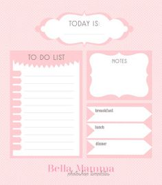 TO DO LIST - PHOTOSHOP TEMPLATES - PSD