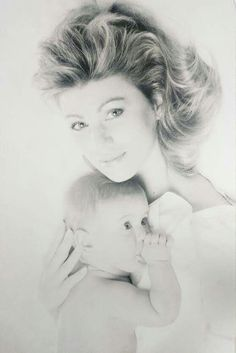 Debbie and baby Brandon.