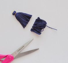 DIY tassel from string