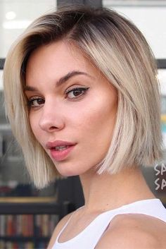 Cool Ways Of Spicing Up Your Short Bob With A Color ★ See more: http://lovehairstyles.com/short-bob/