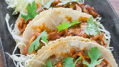 Braised Mushrooms Tacos