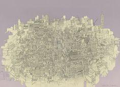Secret London: Illustration by Beverley Gene Coraldean