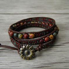 Beaded Wrap Bracelets, Seed Bead Bracelets, Gemstone Bracelets, Pandora Bracelets, Seed Beads, Beaded Jewelry, Jewelry Bracelets, Crochet Bracelet, Diamond Bracelets