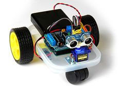 Arduino Wandering Robot (Improvised) by JaceDuino {4 steps}