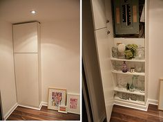 hide electric box with cabinet (extended to a functional one)