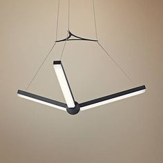 "Elan Enterprise 27 1/4"" Wide Charcoal 3-LED Pendant"