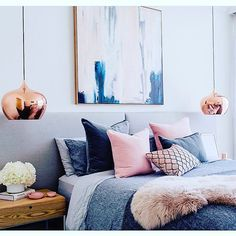 Bedroom #inspo RT @littlelibertyrooms Master bedroom flashback from one our our complete home redesigns as featured in @adoremagazine  Interior Decoration/Design @littlelibertyrooms styling @aimeestylist photography @hannahblackmore #masterbedroom #bed #bedroom #bedroominspo #bedrooms #bedroomdesign #bedroomstyle #bedroomselfie #bedroomdecor #bedpillows #bedlinen #bedstyling #bedstyle