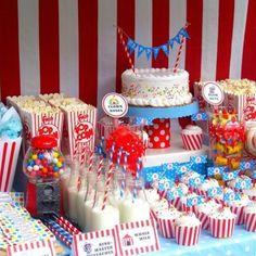Circus theme bday