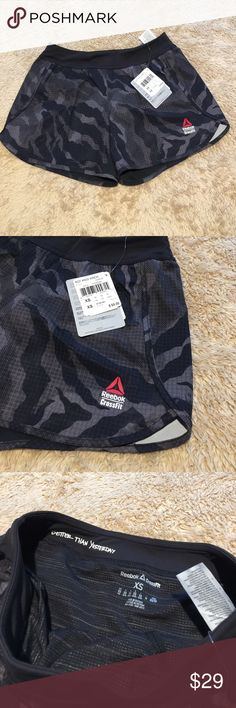 Women's Reebok CrossFit 4 Inch Speed Shorts XL New with tags Reebok Shorts