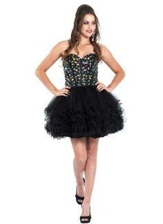 59a8fba815 Cute short puffy tutu and rhinestone sweetheart corset short prom  homecoming formal dress Puffy Prom Dresses