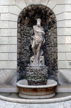 Fontana del Nettuno a Palazzo Thun Trento