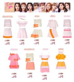 """""""TWICE - TT❤️"""" by mabel-2310 on Polyvore featuring CÉLINE, Paskal, Marni, Gucci, Boohoo and Elizabeth and James"""