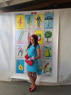 Loteria card backdrop