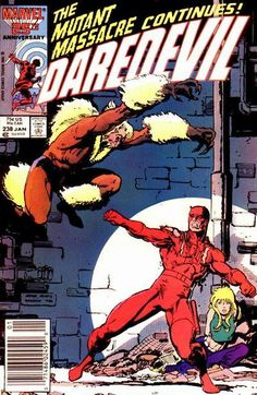 "Arthur ""Art"" Adams, Sabertooth vs Daredevil"
