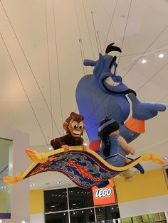 LEGO Shop at Downtown Disney District in Anaheim, California