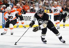 Sidney Crosby Pittsburgh Penguins vs Philadelphia Flyers Game 5 April 20