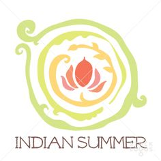 Indian Summer spa and floral | StockLogos.com