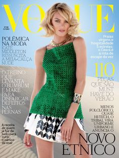 Top model Candice Swanepoel becomes the cover girl of Vogue Brazil's October edition photographed by JR Duran. Vogue Japan, Vogue Brazil, Vogue India, Brazil Brazil, Vogue Russia, Vogue Magazine Covers, Vogue Covers, Terry Richardson, Vogue Australia