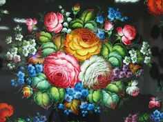 Beautiful painted Trays | Curious, Funny Photos / Pictures
