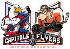 2016 East Qtrs. @NHL @NHLonNBCSports #StanleyCupPlayoffs #StanleyCup #WSHvsPHI #EPoole88