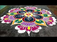 Rangoli Designs Latest, Simple Rangoli Designs Images, Rangoli Designs Diwali, Rangoli Designs With Dots, Simple Blouse Designs, Rangoli With Dots, Beautiful Rangoli Designs, Mehndi Designs For Hands, Simple Designs