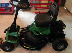 Weedeater 261 Rear Engine Riding Mower - For Sale - New Tazewell, TN.