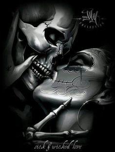 Sugar skull love