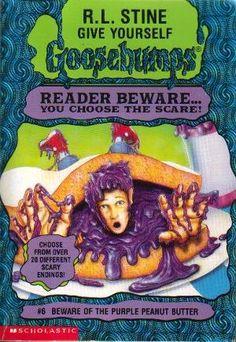 RL Stein Goosebumps Reader Beware.... You choose the scare.