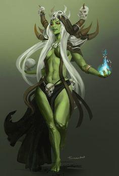 Female Orc, Charlotte Creber