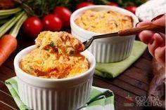 Receita de Souflê de legumes especial em Sufles, veja essa e outras receitas aqui!