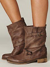 Free People Brown Anna Boots, $198.00