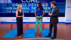 Dr Oz Show demonstrates how to relieve knee pain. Massage therapy is very beneficial. Book a therapeutic massage treatment today! Dr Oz Show, Knee Pain Relief, Massage Treatment, Tight Hip Flexors, Psoas Muscle, Relieve Back Pain, Running Workouts, Exercise Workouts, Excercise